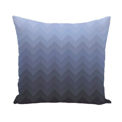 Segal Throw Pillow Color: Blue, Size: 18 H x 18 W