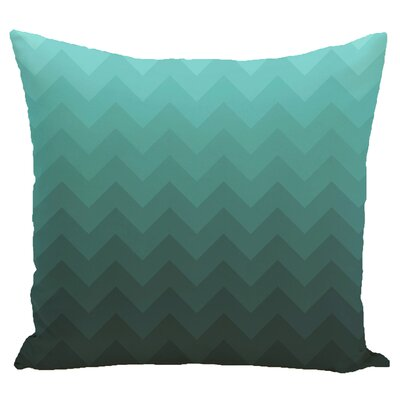 Segal Throw Pillow Size: 18 H x 18 W, Color: Aqua