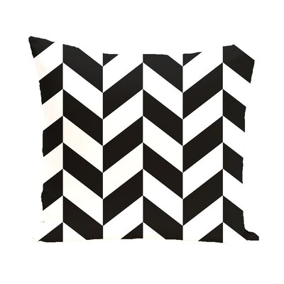 Carnell Chevron Throw Pillow Size: 26 H x 26 W x 2 D