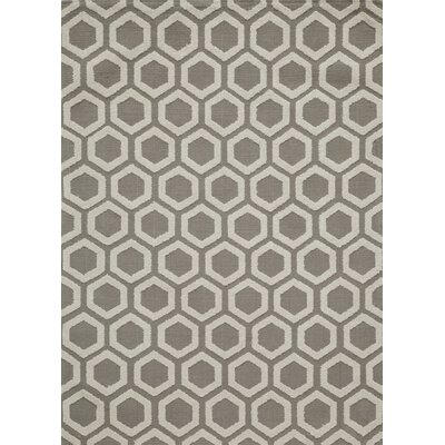 Richie Hand-Tufted Taupe Area Rug Rug Size: Rectangle 5 x 7