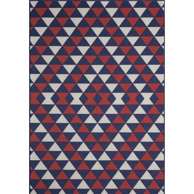 Wexler Hand-Tufted Indoor/Outdoor Area Rug Rug Size: Rectangle 53 x 76