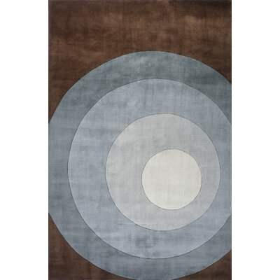 Rita Hand-Tufted Gray Area Rug Rug Size: Rectangle 96 x 136
