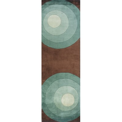 Rita Hand-Tufted Gray Area Rug Rug Size: Runner 26 x 8