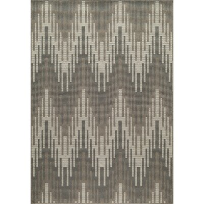 Wexler Hand-Woven Ivory Area Rug Rug Size: Rectangle 53 x 76