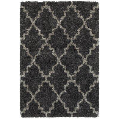 Sayer Charcoal/Gray Area Rug Size: 9'10