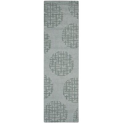 Scanlan Modern Grey Area Rug Rug Size: Runner 23 x 8