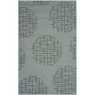 Scanlan Modern Grey Area Rug Rug Size: 3 x 5