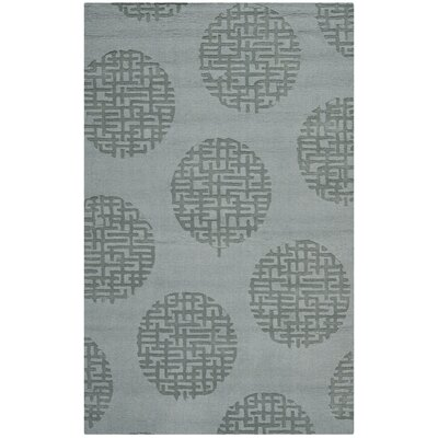 Scanlan Modern Grey Area Rug Rug Size: 5 x 8