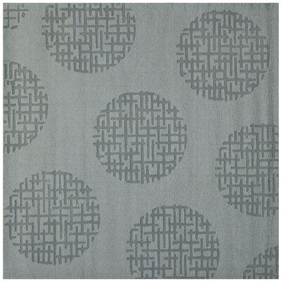Scanlan Modern Grey Area Rug Rug Size: Square 6