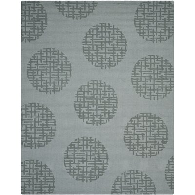 Scanlan Modern Grey Area Rug Rug Size: Rectangle 76 x 96