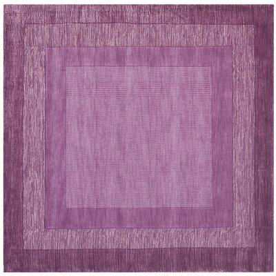 Scanlan Purple Area Rug Rug Size: Square 6'