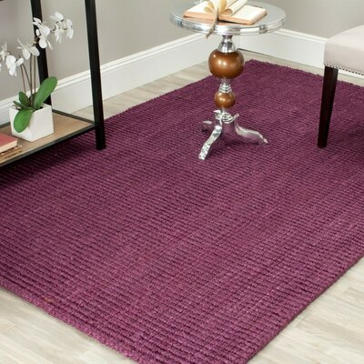 Shapiro Purple Area Rug Rug Size: Rectangle 2 x 3