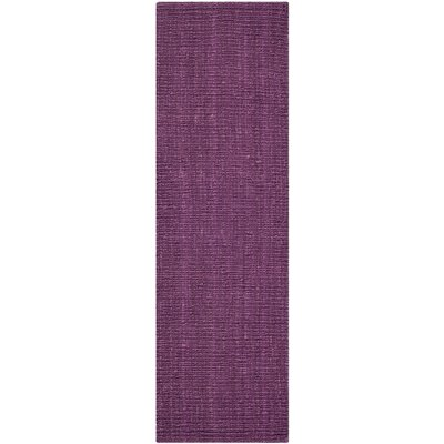 Shapiro Purple Area Rug Rug Size: Runner 26 x 8