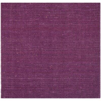 Shapiro Purple Rug Rug Size: Square 6