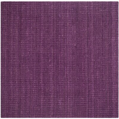 Shapiro Purple Area Rug Rug Size: Square 8