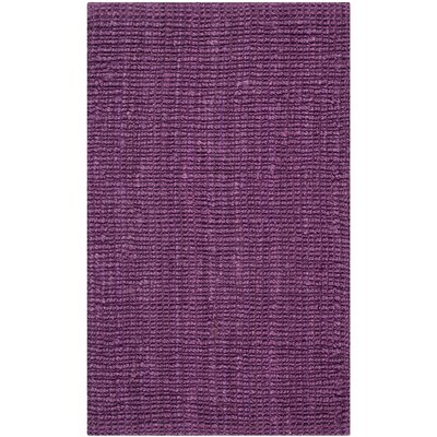Shapiro Purple Area Rug Rug Size: Rectangle 26 x 4