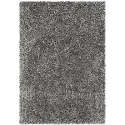Bellar Shag Silver Solid Rug Rug Size: Rectangle 2 x 3