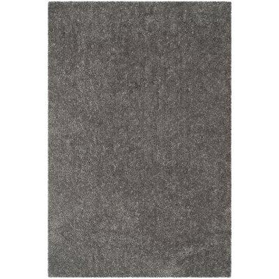 Bellar Shag Silver Solid Rug Rug Size: Rectangle 6 x 9