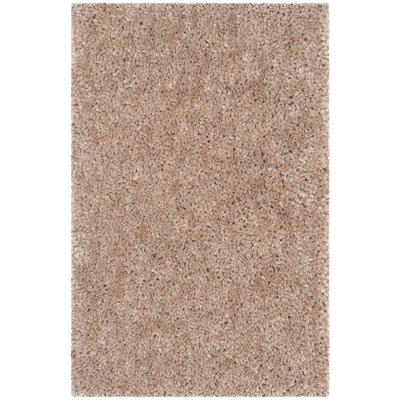 Bellar Shag Beige Area Rug Rug Size: Rectangle 26 x 4