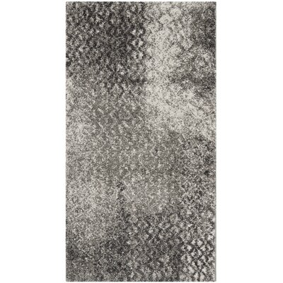 Shroyer Light Gray Area Rug Rug Size: Rectangle 2 x 37