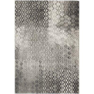 Shroyer Light Gray Area Rug Rug Size: 8 x 112
