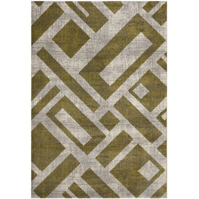 Shroyer Ivory Area Rug Rug Size: Rectangle 53 x 77