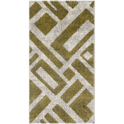 Shroyer Ivory Area Rug Rug Size: Rectangle 2 x 37