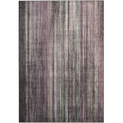 Zelda Charcoal / Multi Colored Rug Rug Size: 67 x 92