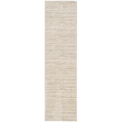 Harloe Ivory/Cream Area Rug Rug Size: Rectangle 22 x 4