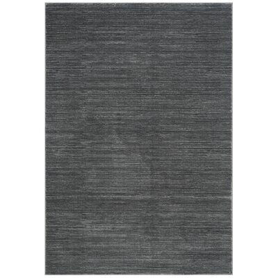 Sifford Gray Area Rug Rug Size: 51 x 76