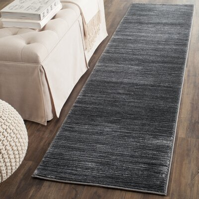 Sifford Gray Area Rug Rug Size: Runner 22 x 8
