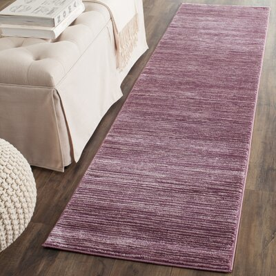Sifford Pink Area Rug Rug Size: Runner 22 x 8