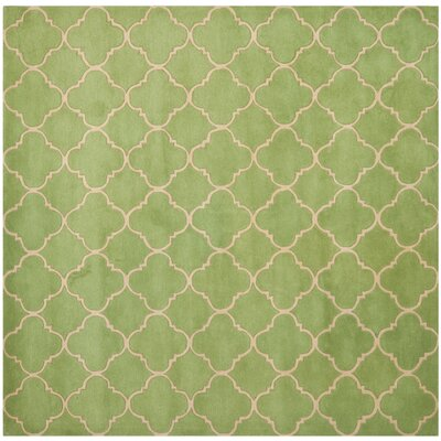 Wilkin Green Area Rug Rug Size: Square 7'