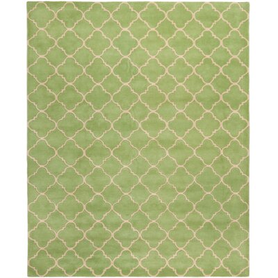 Wilkin Green Area Rug Rug Size: Rectangle 8 x 10