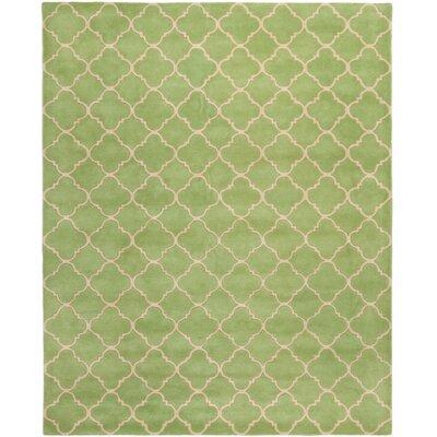 Wilkin Green Area Rug Rug Size: 8 x 10