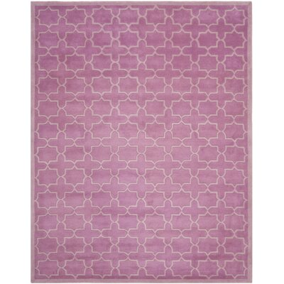 Wilkin Pink Area Rug Rug Size: 8 x 10