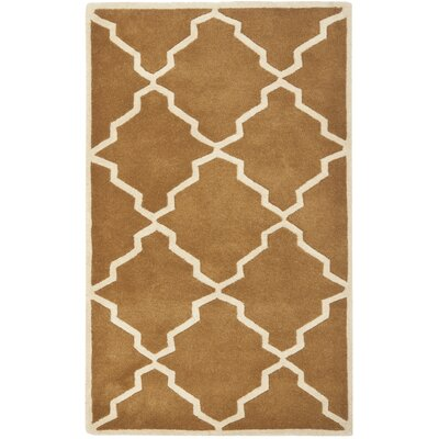 Wilkin Brown Rug Rug Size: Rectangle 3 x 5