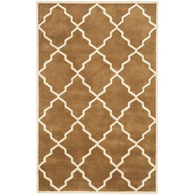 Wilkin Brown Rug Rug Size: Rectangle 4 x 6