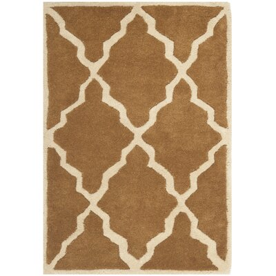 Wilkin Brown Rug Rug Size: Rectangle 2 x 3