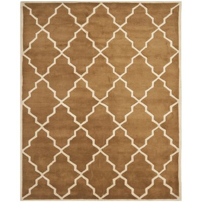 Wilkin Brown Rug Rug Size: Rectangle 8 x 10