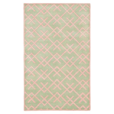 Wilkin Green Rug Rug Size: Rectangle 3 x 5