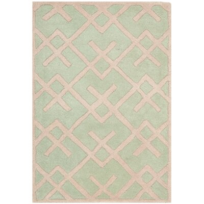Wilkin Green Rug Rug Size: Rectangle 2 x 3