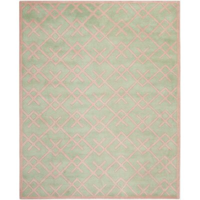 Wilkin Green Rug Rug Size: Rectangle 8 x 10