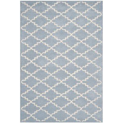 Wilkin Blue & Ivory Area Rug Rug Size: 3 x 5