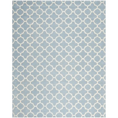 Wilkin Blue & Ivory Area Rug I Rug Size: 8 x 10