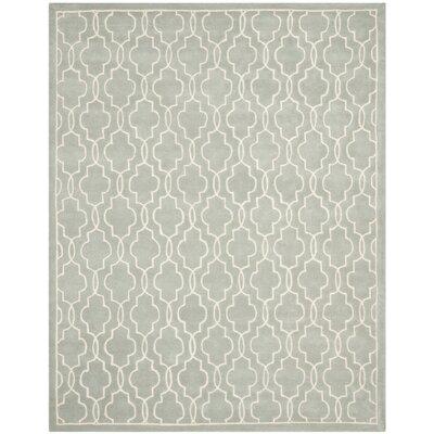 Wilkin Grey / Ivory Rug Rug Size: 9 x 12