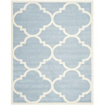 Wilkin Blue & Ivory Area Rug II Rug Size: 10 x 14