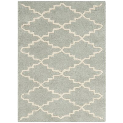 Wilkin Grey / Ivory Rug Rug Size: Rectangle 2 x 3
