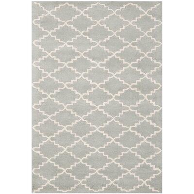 Wilkin Grey / Ivory Rug Rug Size: 4' x 6'
