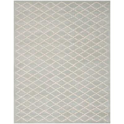 Wilkin Grey / Ivory Rug Rug Size: 8 x 10